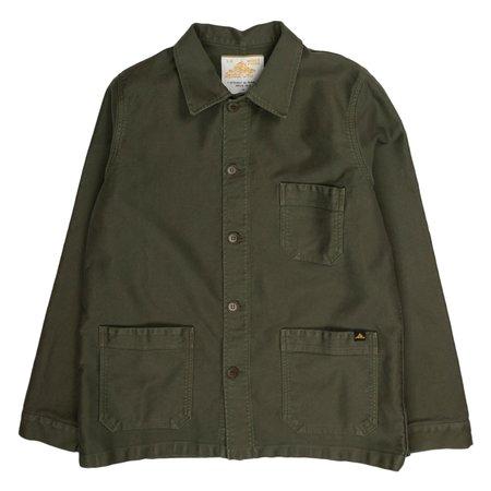 Le Mont Saint-Michel Genuine Work Jacket - Khaki