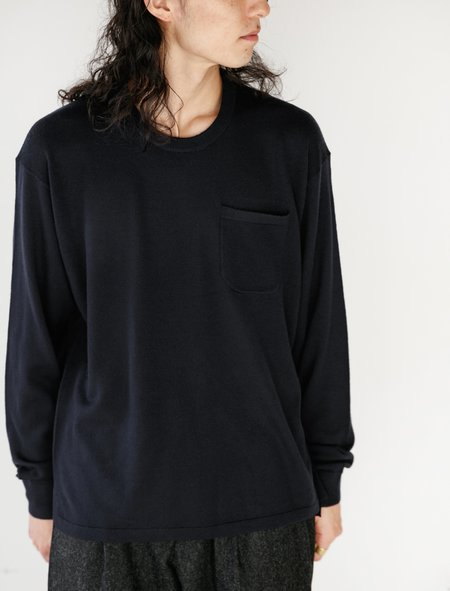 Meticulous Knitwear Hennessy Tee - Navy