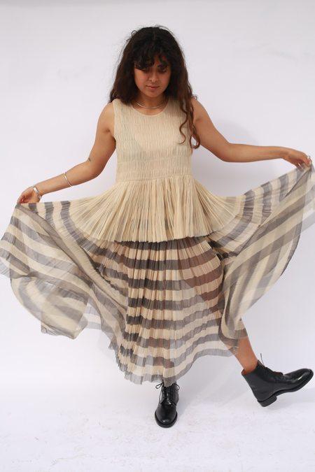 Sara Lanzi Gathered Skirt