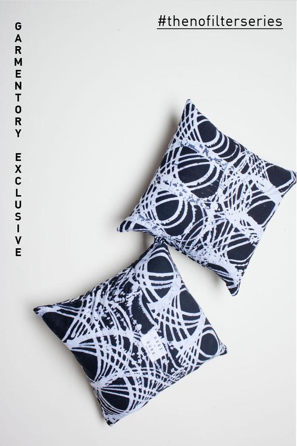 EXCLUSIVE: Osei-Duro Wax Print Cushion Cover
