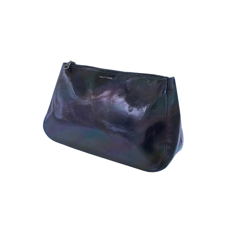 cosmetic bag Tracey Tanner Fatty Pouch - Graphite Hologram