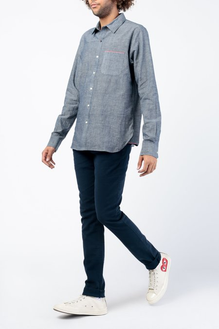 Kardo Rodney L/S Shirt - Indigo