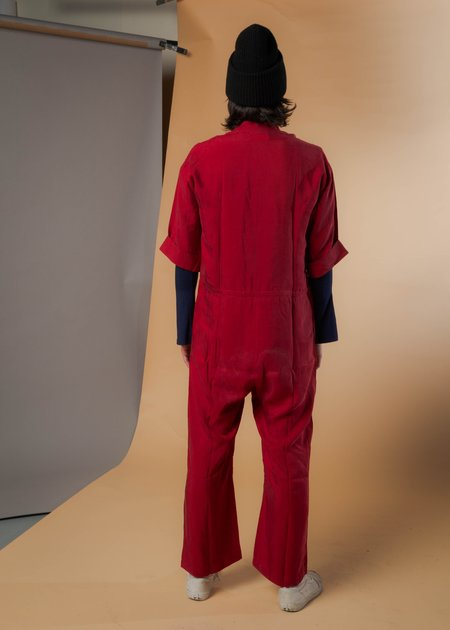 Unisex Reality Studio Asia All in One Jumpsuit - Scarlet