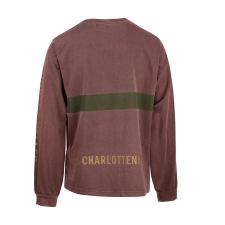 Robert Geller F.C Charlottensburg Long Sleeve T-Shirt - Rust