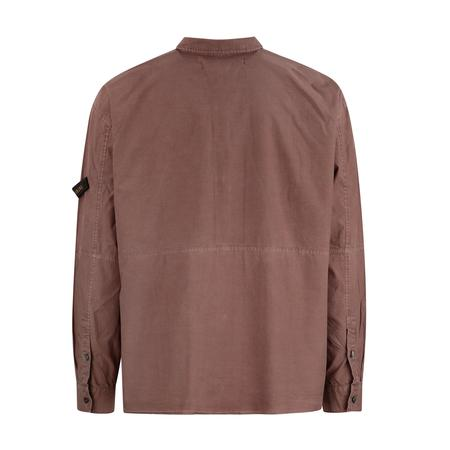 Robert Geller New Karol Shirt - Rust