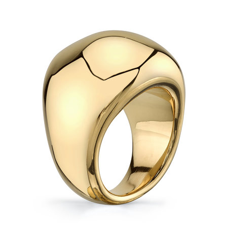 Gabriela Artigas Large Balloon Ring - Gold