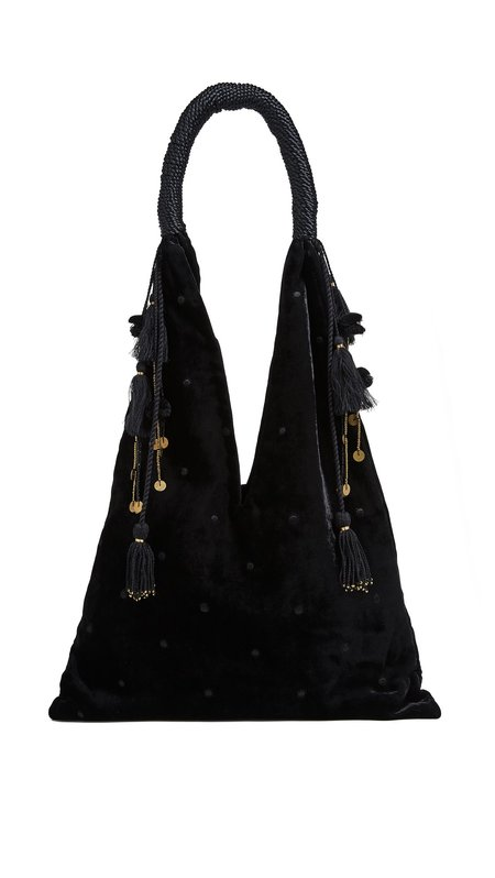 Ulla Johnson Lalo Tote - Jet