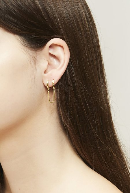Stella and Bow Bardi Earrings P - Silver