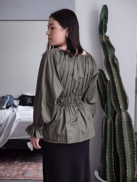 Eliza Faulkner Nellie Top - Khaki