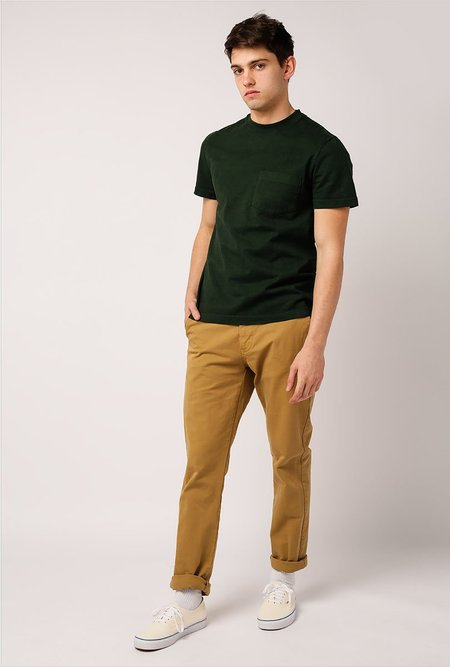 WELCOME STRANGER OD Bison Pocket T-Shirt - Pine