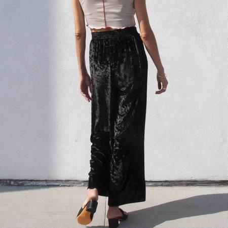 MM6 Velvet Pants