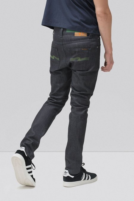 Nudie Jeans Lean Dean - Dry Green