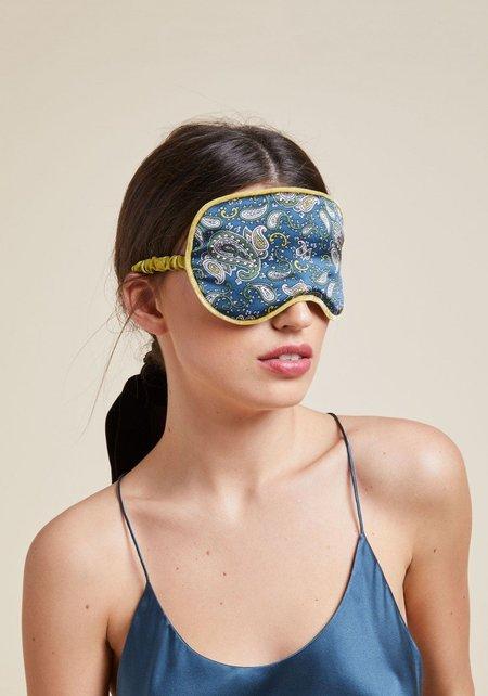 Olivia Von Halle Bettina Silk Eye Mask
