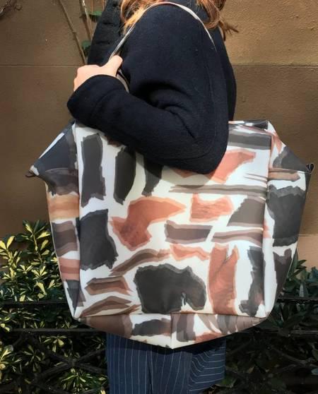 Luisa Cervese Overnighter Bag - Woodprint