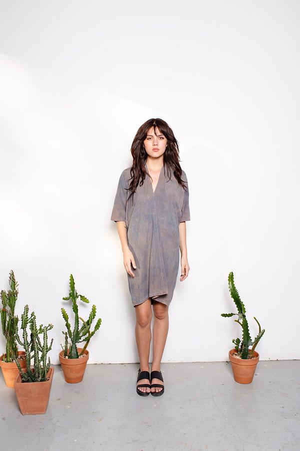 Miranda Bennett Overdye Muse Dress | Silk
