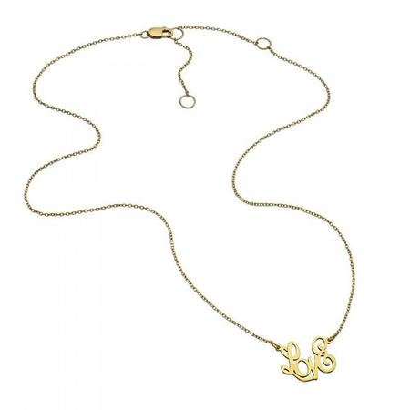 Jennifer Zeuner Kadin Necklace - Yellow Vermeil