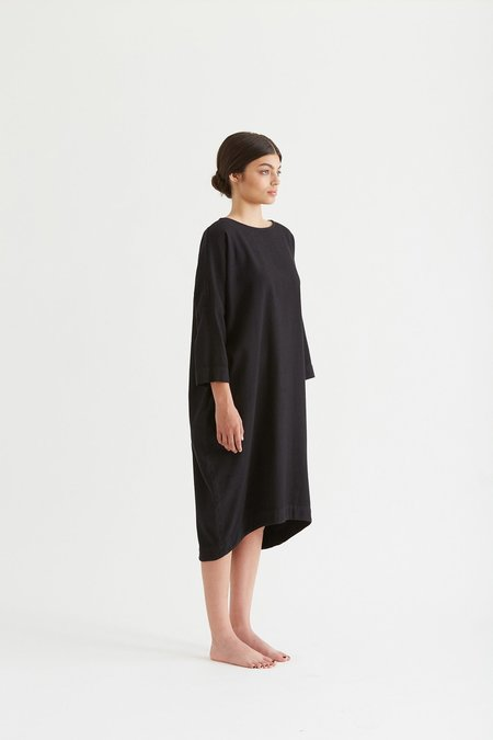 Black Crane BUD DRESS - Black