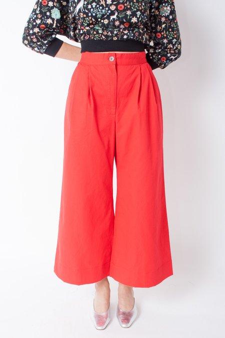Wray Eli Petite Pant - Red