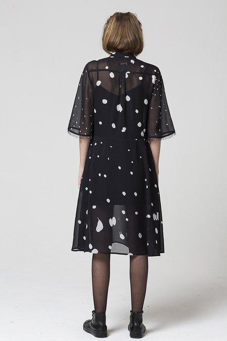 SALASAI Displaced Dress - Distorted Spots