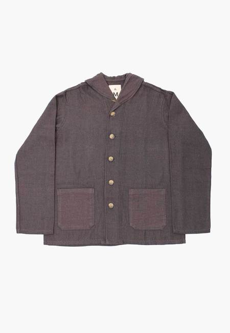 New Market Goods Bhora Twill  Jacket - Navy