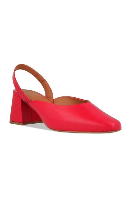 By Far Lisa Slingbacks - Red