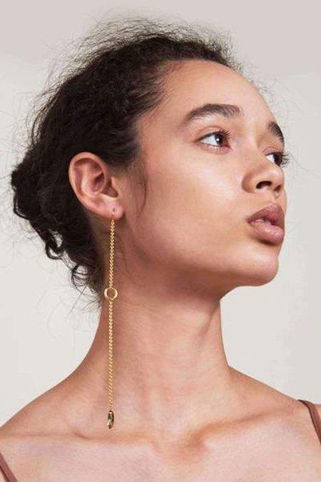 Lady Grey Drift Earrings - Gold