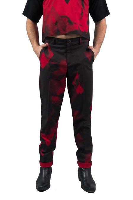 Dusty PENTTI Trousers - Red