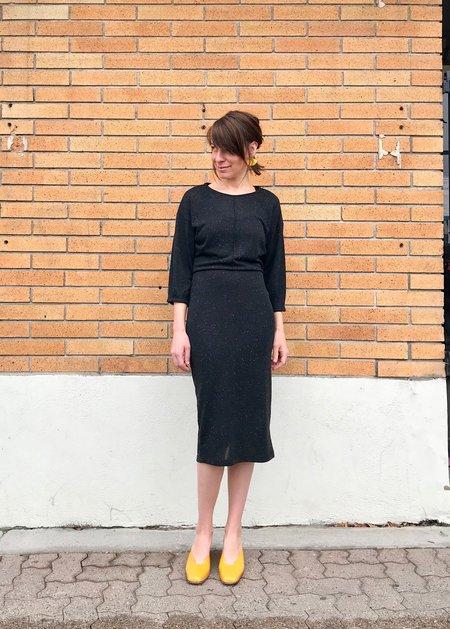 Eve Gravel Juniper Dress - Black