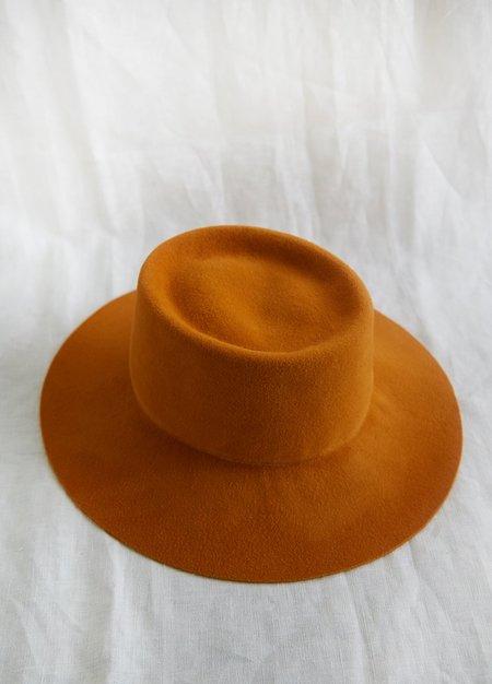 Brookes Boswell Reinette HAT - ORANGE