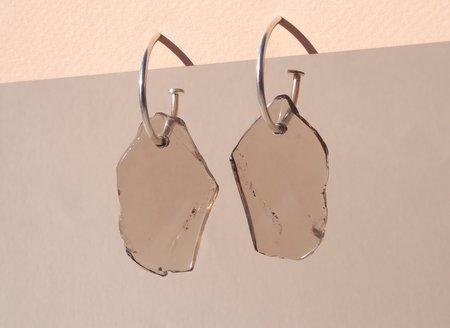 Octave Jewelry Charm Hoop - Smoky Quartz