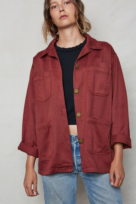 back beat rags Canvas Utility Jacket