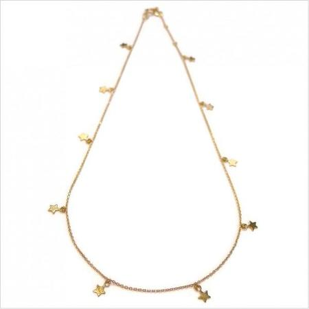 Gag et Lou Star Constellation Necklace - Gold