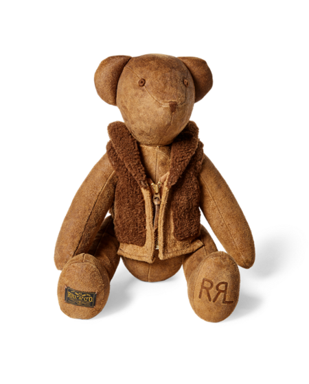 RRL Limited-Edition Suede Bear