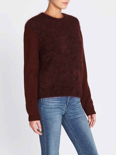 MiH Jeans Dawes Sweater - Burgundy