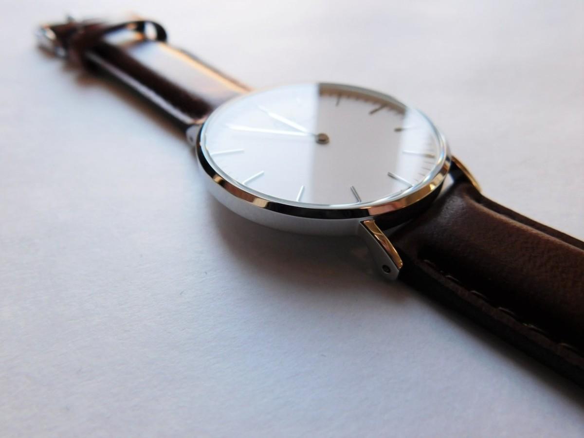 Daniel Wellington St. Mawes Silver 36mm Watch