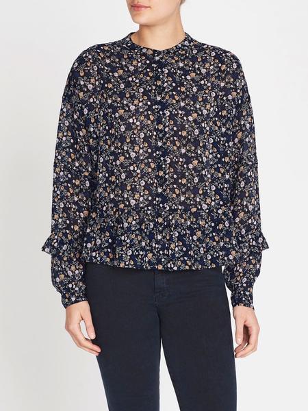 MiH Jeans Ingrid Shirt - Vine Leaf Print