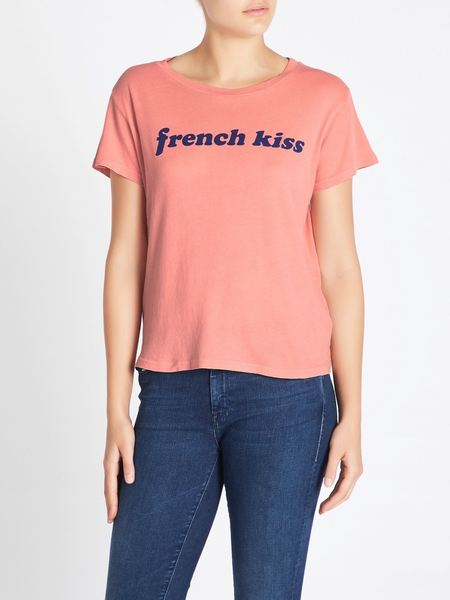 Mother Denim The Boxy Goodie Goodie Tee - French Kiss