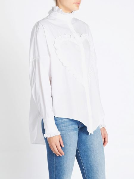 SECULAR The Elizabeth Shirt - White