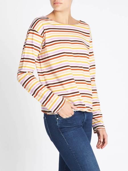 MiH Jeans Simple Mariniere Top - Sunset Multi