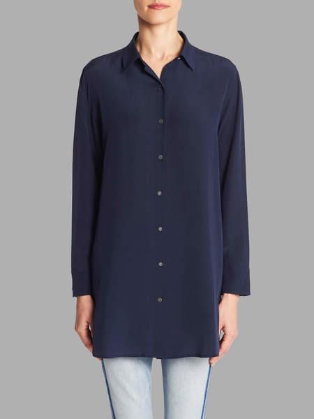 MiH Jeans Oversize Shirt - Navy Blue