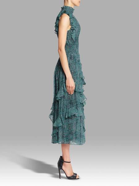 Rebecca Taylor Sleeveless Minnie Flower Dress - Floral