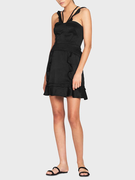Camilla and Marc Sentry Mini Dress - BLACK