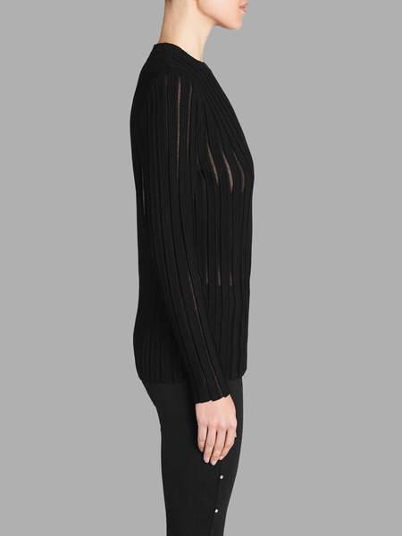 Camilla and Marc Yoko Sheer Knit Jumper - BLACK