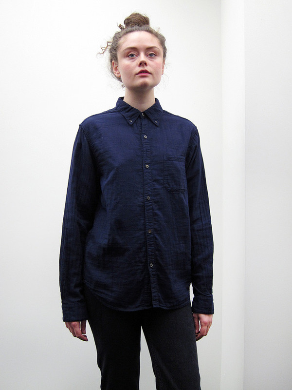 Kapital Double Gauze Button Down Shirt