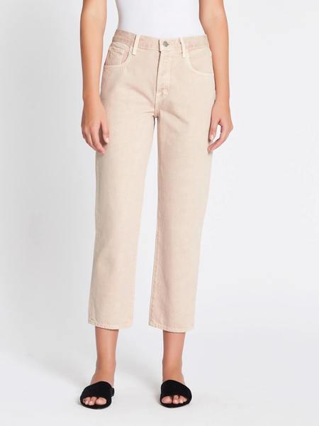 J Brand Wynne Crop Straight Jean - Memory