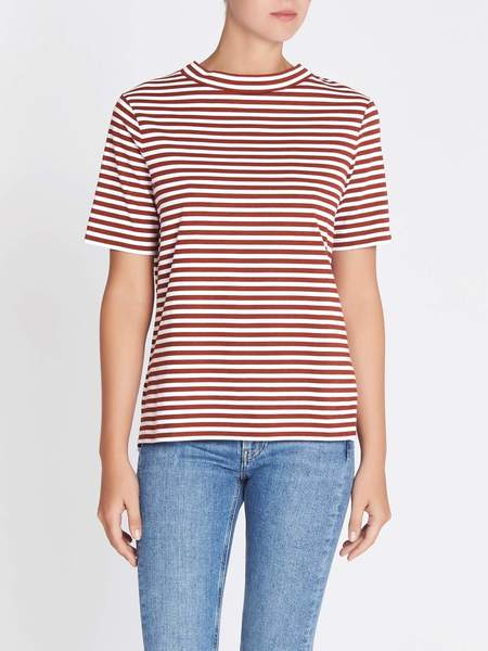 MiH Jeans Penny Tee - Red/White