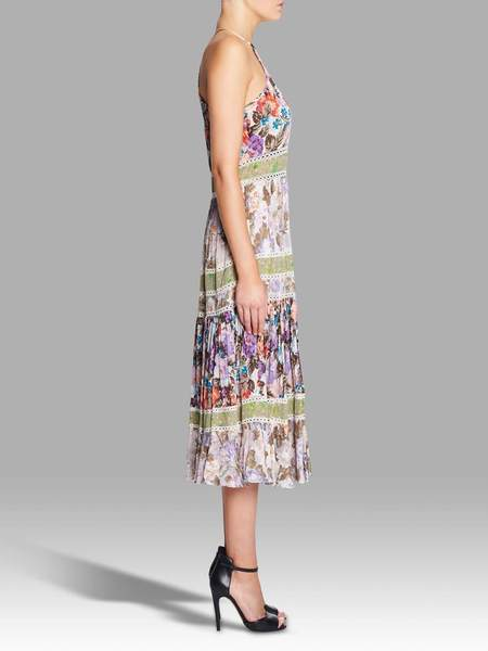 Rebecca Taylor Print Mix Dress - Mixed Prints