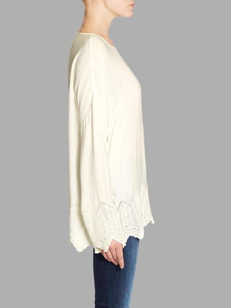 IRO Carsie Oversized Blouse - Beige