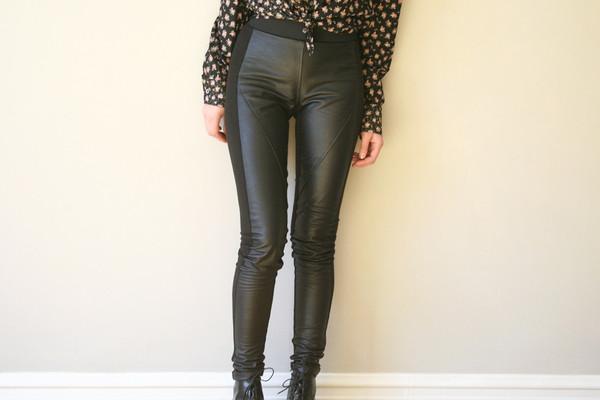 Ursa Minor Leather Leggings