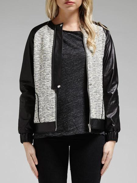 Rebecca Minkoff Enza Jacket - Mixed Tweed